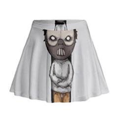 Dr. Lecter Mini Flare Skirt