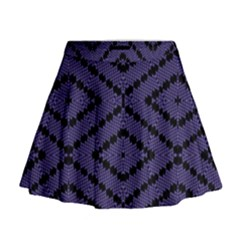 Reboot Computer Glitch Mini Flare Skirt