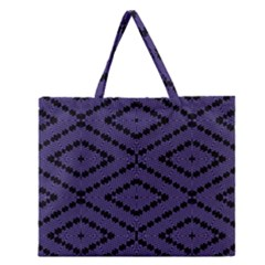 WI-FY Zipper Large Tote Bag