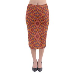 Planet Yo Midi Pencil Skirt
