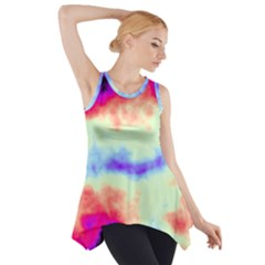 Calm Of The Storm Side Drop Tank Tunic