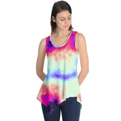 Calm Of The Storm Sleeveless Tunic