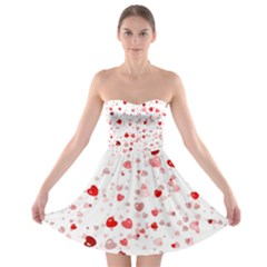 Bubble Hearts Strapless Dresses
