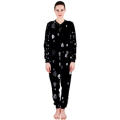 Black and White Hearts OnePiece Jumpsuit (Ladies)