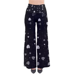 Black and White Hearts Pants