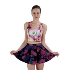 Confetti Hearts Mini Skirt