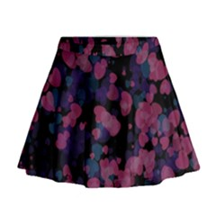 Confetti Hearts Mini Flare Skirt
