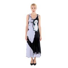 I m Not Finished Sleeveless Maxi Dress