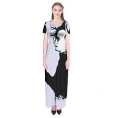 I m Not Finished Short Sleeve Maxi Dress