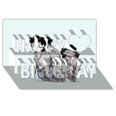 Inconceivable Happy Birthday 3D Greeting Card (8x4)