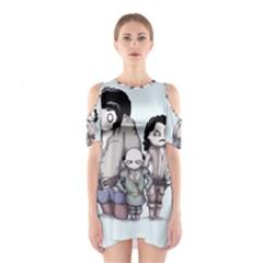 Inconceivable Cutout Shoulder Dress