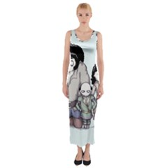 Inconceivable Fitted Maxi Dress