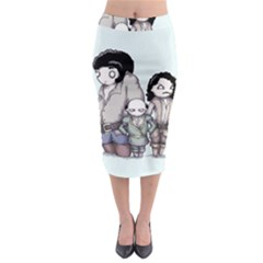 Inconceivable Midi Pencil Skirt
