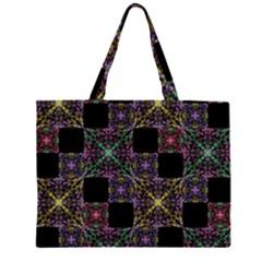 Ornate Boho Patchwork Large Tote Bag