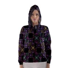 Ornate Boho Patchwork Hooded Wind Breaker (Women)