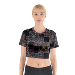 Ornate Boho Patchwork Cotton Crop Top
