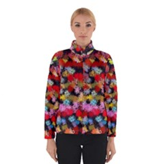 Colorful brush strokes                                             Winter Jacket
