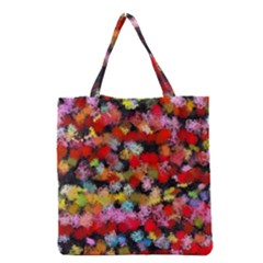 Colorful brush strokes                                             Grocery Tote Bag
