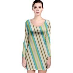 Bent stripes                                               Long Sleeve Velvet Bodycon Dress