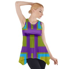 Angles and shapes                                                 Side Drop Tank Tunic