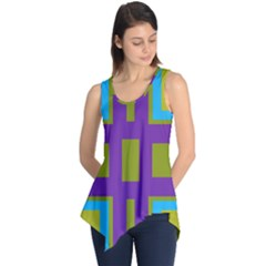 Angles and shapes                                                 Sleeveless Tunic
