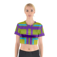 Angles and shapes                                                 Cotton Crop Top