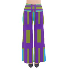 Angles And Shapes                                Women s Chic Palazzo Pants