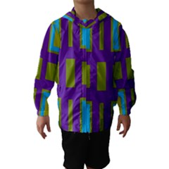 Angles and shapes                                                 Hooded Wind Breaker (Kids)