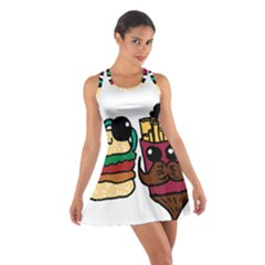 Burger And Fries Racerback Dresses
