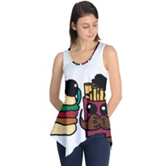Burger And Fries Sleeveless Tunic