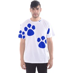 Blue Paws Men s Sport Mesh Tee