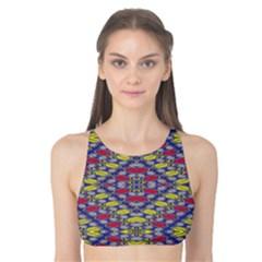 Colorful Duck Tank Bikini Top