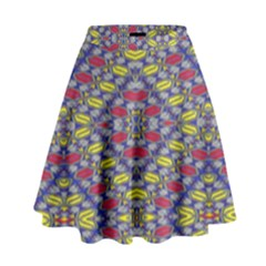 Colorful Duck High Waist Skirt