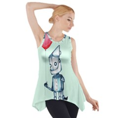 Tin Man Side Drop Tank Tunic