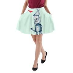 Tin Man A Line Pocket Skirt