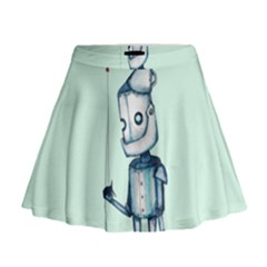 Tin Man Mini Flare Skirt