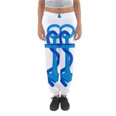 blue anchor Women s Jogger Sweatpants