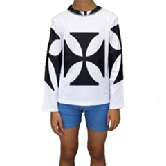 Cross Kid s Long Sleeve Swimwear