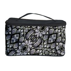 Silver Oriental Ornate  Cosmetic Storage Case