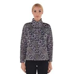 Silver Oriental Ornate Winterwear