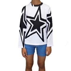 Double Star Kid s Long Sleeve Swimwear