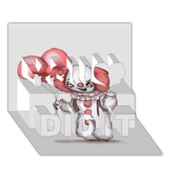 They All Float You Did It 3D Greeting Card (7x5)