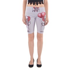 They All Float Yoga Cropped Leggings