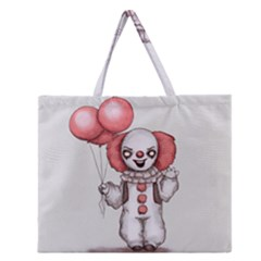 They All Float Zipper Large Tote Bag