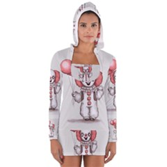 They All Float Women s Long Sleeve Hooded T Shirt