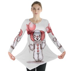 They All Float Long Sleeve Tunic