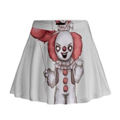 They All Float Mini Flare Skirt