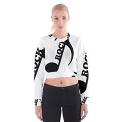 Rock Women s Cropped Sweatshirt