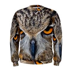 Great Horned Owl 1 Men s Sweatshirt