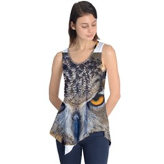 Great Horned Owl 1 Sleeveless Tunic